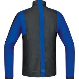 GORE RUNNING WEAR Air GWS Shirt Long Men black/brilliant blue